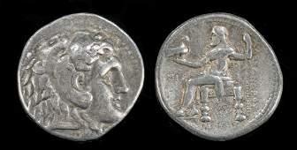 Greek Alexander III Silver Tetradrachm