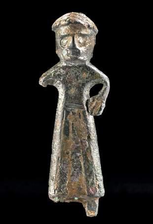 Published Southern Gallic Silver Washed Bronze Fibula