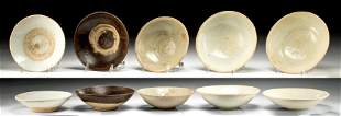 Chinese Song Dynasty Glazed Ceramic Dishes 5