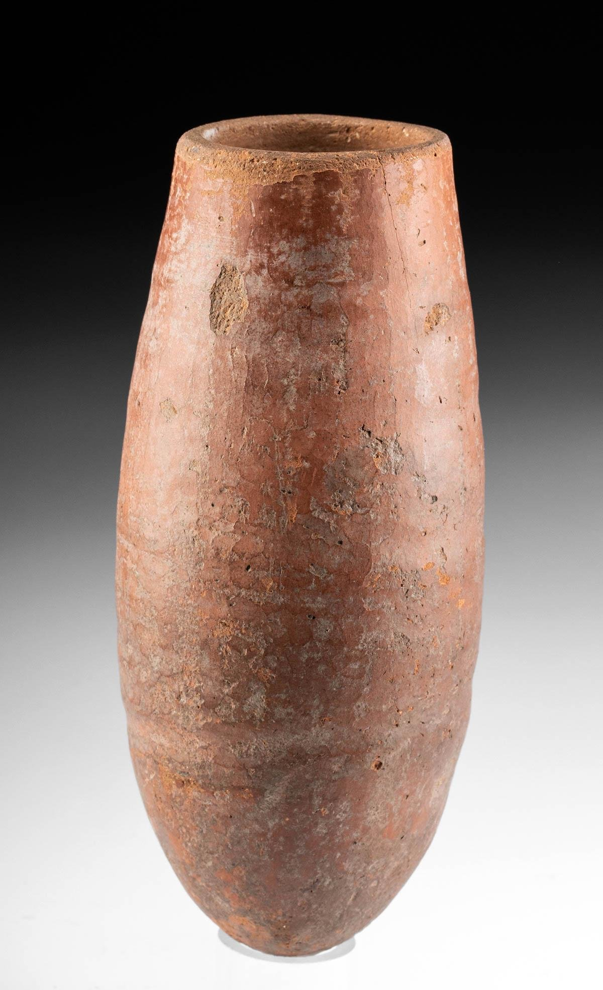 Egyptian Pre-Dynastic Naqada I Redware Vase