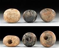Anatolian / Mesopotamian Stone Mace Heads, ex Sotheby's