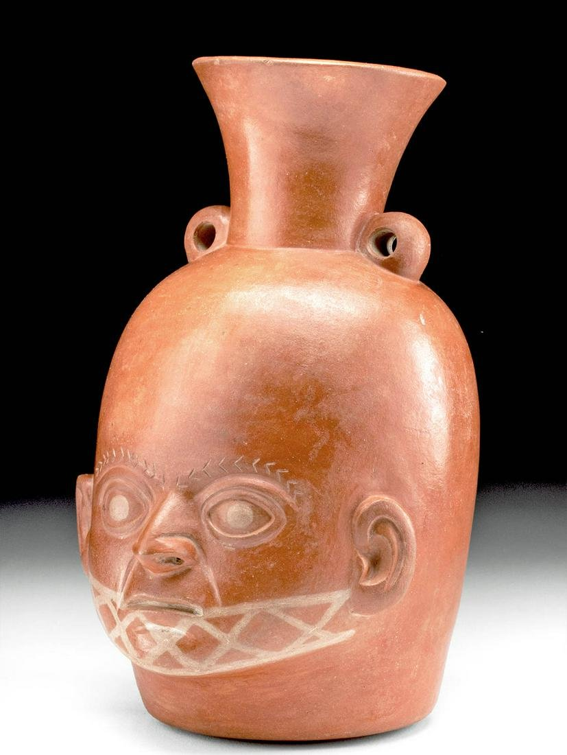 Salinar Pottery Portrait Vessel