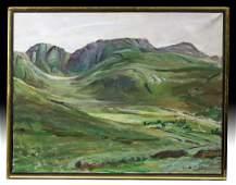 Framed William Draper - Poisoned Glen, Ireland - 1970