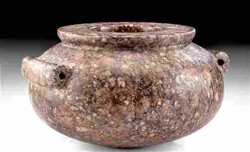 Egyptian Pre-Dynastic Porphyry Vessel