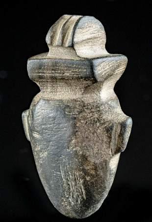 Egyptian New Kingdom Steatite Heart Amulet