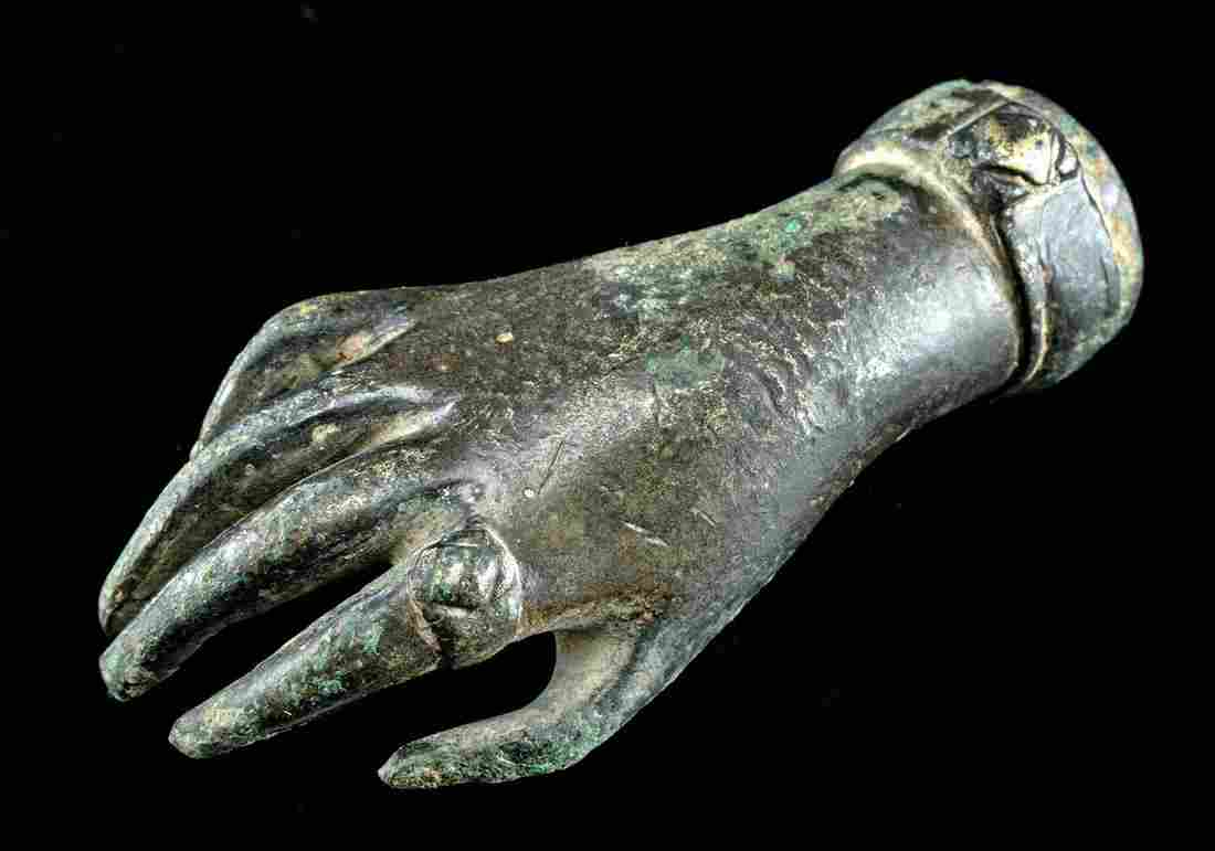 10th C. Islamic Brass Right Hand of a Noble