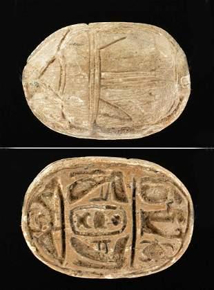 Egyptian Scarab Pendant for Thutmose III, 1948 Export