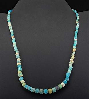 Romano Egyptian Glass Bead Necklace