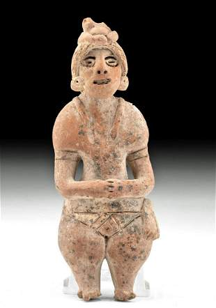 Colima Autlan Pottery Standing Male Figure