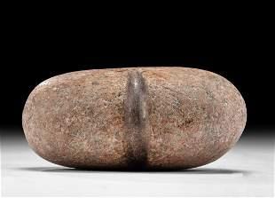 Native American Stone Tool w/ Half Groove