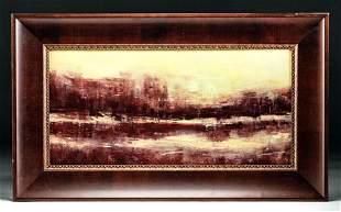 Framed Signed J. Sugg Landscape Painting, ca. 2015