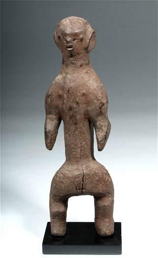 Early 20th C. African Katana Wood Female Figure