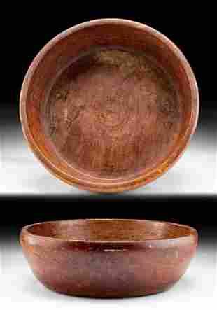 Early 20th C. Hawaiian Koa Calabash Bowl