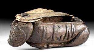 19th C. American Wood & Bone Box
