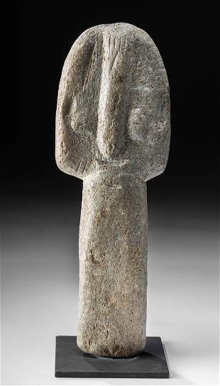 Large African Bura Stone Figure