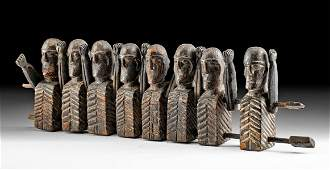 19th C. Indonesian Toraja Wood Tau Tau Puppets
