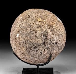 18th C. Hawaiian Stone Game / Balance Ball