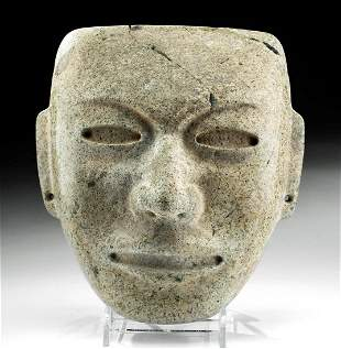 Striking Teotihuacan Stone Mask
