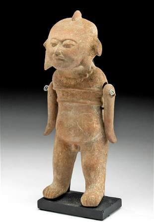 Veracruz Pottery Articulated Figure, ex Sotheby's