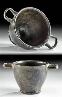 Greek Pottery Skyphos