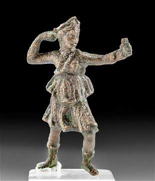 Leaded Bronze Statue of Striding Diana
