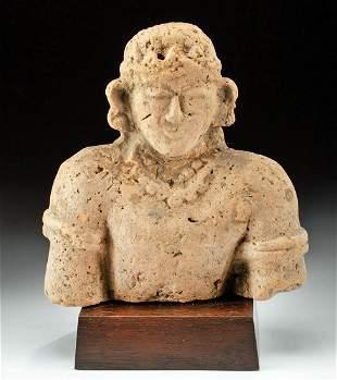 15th C. Indonesian Majahapit Terracotta Bust