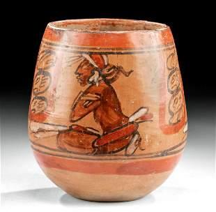 Maya Polychrome Jar w/ Dignitaries, ex-Arte Primitivo