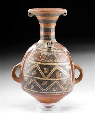 Inca Pottery Aryballos / Urpu