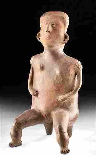 Jalisco Terracotta Seated Woman