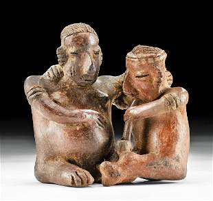 Nayarit Pottery Couple w/ Pipe