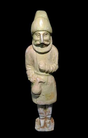 Chinese Sui Dynasty Groom Figure - Rare Foreigner
