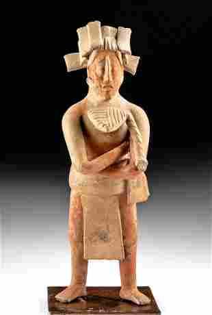 Maya Jaina / Campeche Pottery Standing Lord