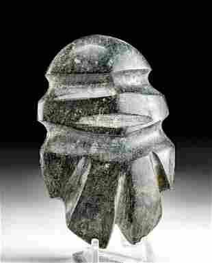 Exhibited Mezcala Stone Figure - Early Type