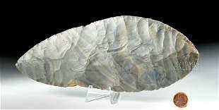 Large Maya Chert Blade