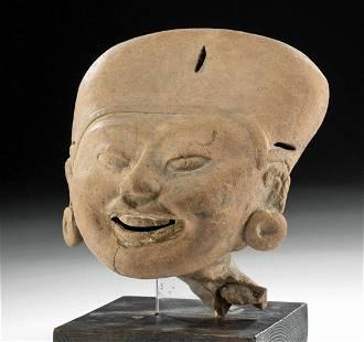 Veracruz Terracotta Sonriente Head