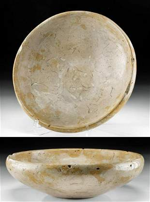 Fine Egyptian Early Dynastic Breccia Bowl