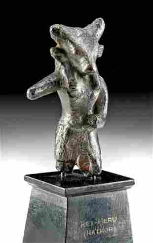 Egyptian Leaded Bronze Mnevis ex-Christies, ex-Museum