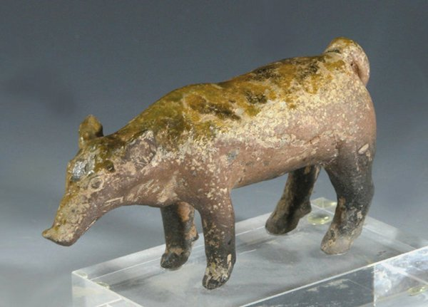 3: Han Dynasty Pottery Pig