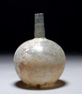 6: Roman Glass Globular Jar