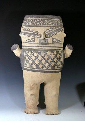 8: Large Pre Columbian Chancay Pottery Cuchimilco