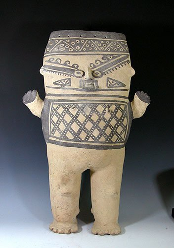 8: Large Pre Columbian Chancay Pottery Cuchimilco