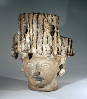 11: Monumental Pre-Columbian Vera Cruz Incensario