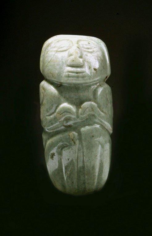 27: Pre-Columbian Figurative Stone Pendant