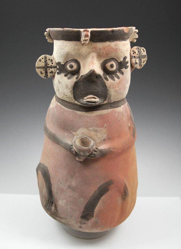 40: Pre-Columbian Chancay Figural Vessel