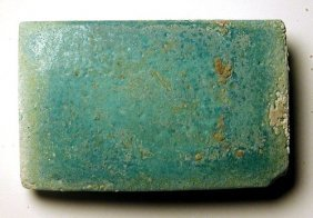 Egyptian Faience Tile - King Djoser's Step Pyramid