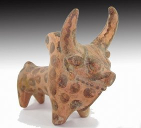 Indus Valley Terracotta Bull Idol