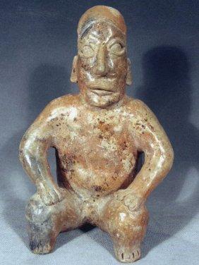 Jalisco Ameca Style Seated Male Figure