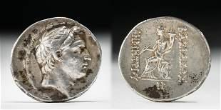 Greek AR Tetradrachm of Demetrius I Soter