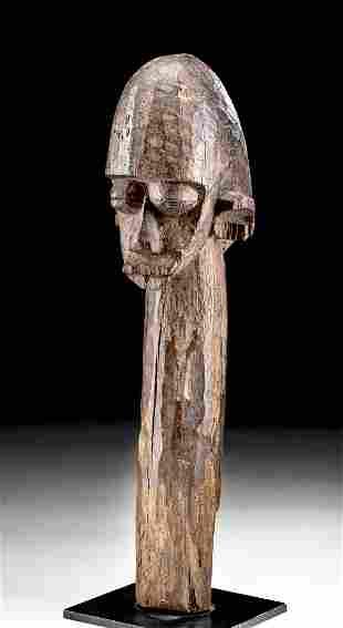 Early 20th C. African Lobi Wood Bateba / Figure