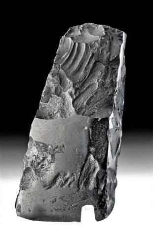 19th C. Hawaiian Basalt Adze Blade
